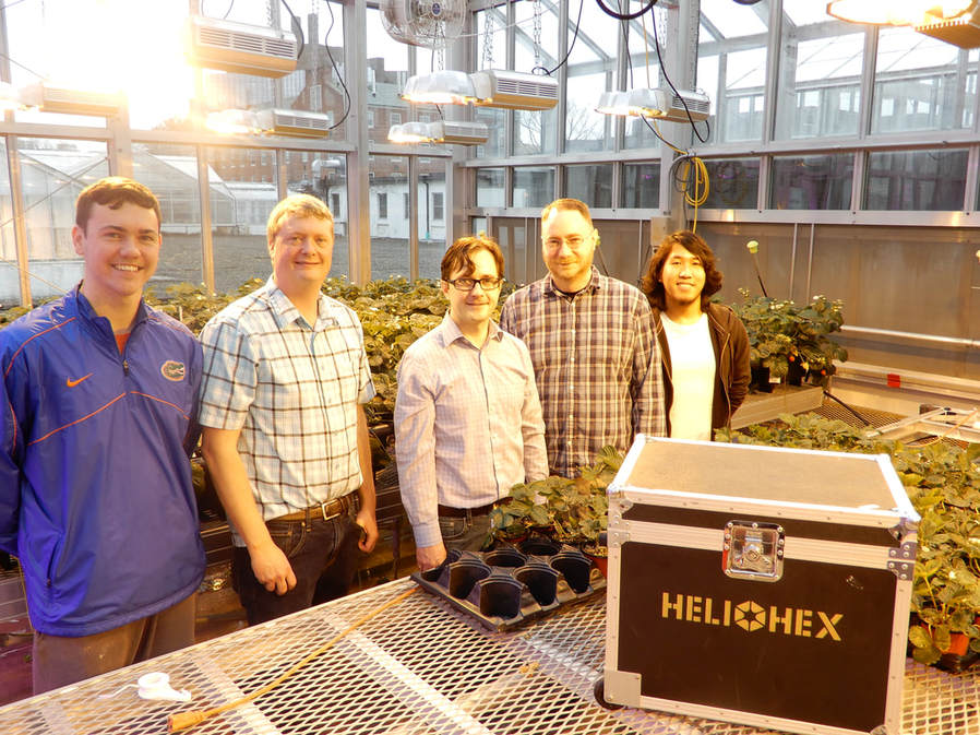 Heliohex and Cornell University Collaborate to Research Better LED Lighting for Plants