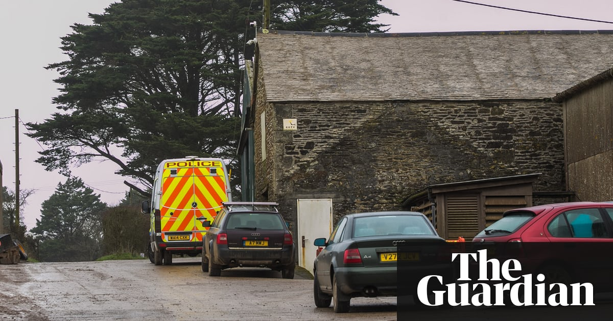 Cornish flower farm workers protest against boss's slavery arrest