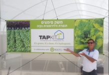 TAPKIT: 500m2 self-assembly hydroponic greenhouse