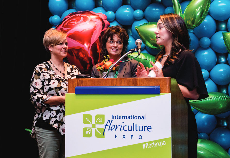 FLORAL INDUSTRY BLOOMS AT IFE SHOW