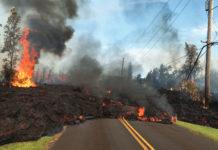 Kilauea Volcano Eruption and Damage