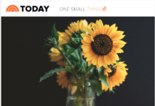 'Today Show' Tells Fans: 'A Simple Bouquet Can Help Kickstart Your Day'