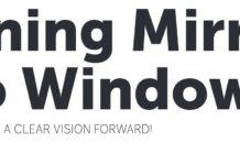 Turning Mirrors into Windows