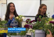 Atwater students developing work skills, one bouquet at a time