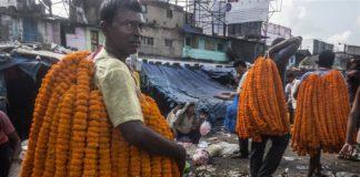 In pics: Mallikghat flower market in Kolkata, India