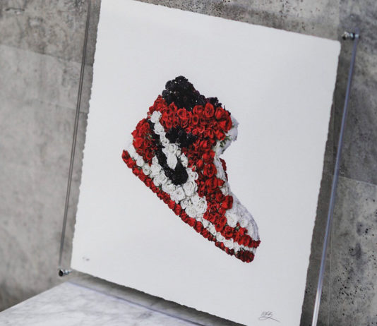 Exclusive Interview: Mr. Flower Fantastic gives sneakers the floral touch