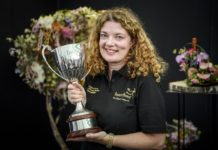 Kingswinford florist Laura Leong to represent UK in Interflora World Cup