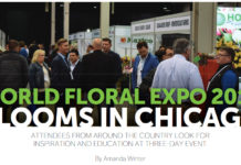 World Floral Expo 2018 Blooms in Chicago